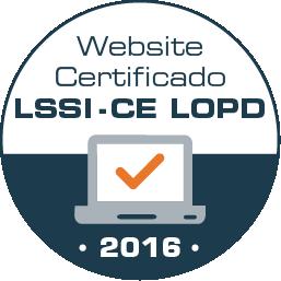 Certificado LSSI-CE
